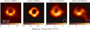 First image of black hole: epitome of scientific collaboration